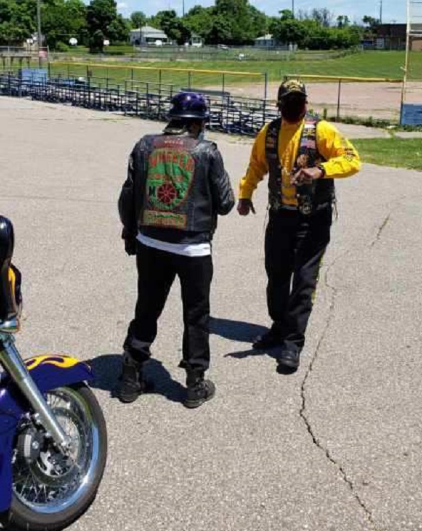Mbili and Geech - NABSTMC Ride for Justi