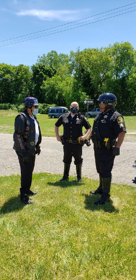 Geech Deputy Lipset and Sargeant Sanchez