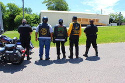 Officers with Colors - NABSTMC Ride for