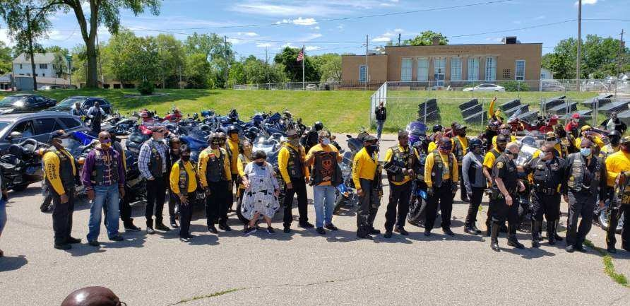 Photo Shoot NABSTMC Ride for Justice Fli