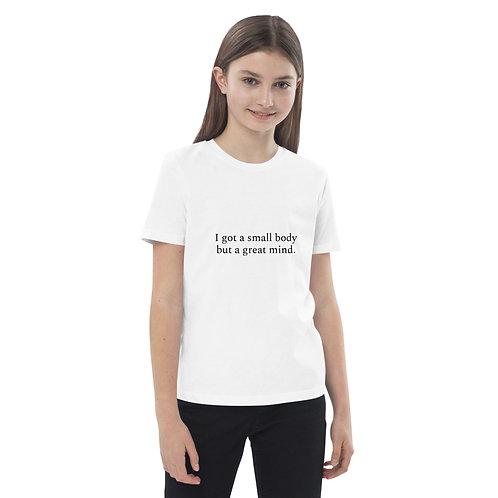 Great Mind - Organic cotton kids t-shirt