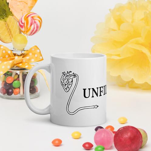 Unfiltered White Glossy Mug