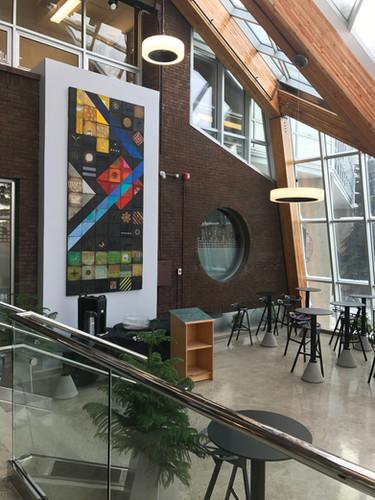 University of Alberta mural