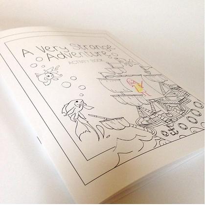 A Very Strange Adventure Activity Book