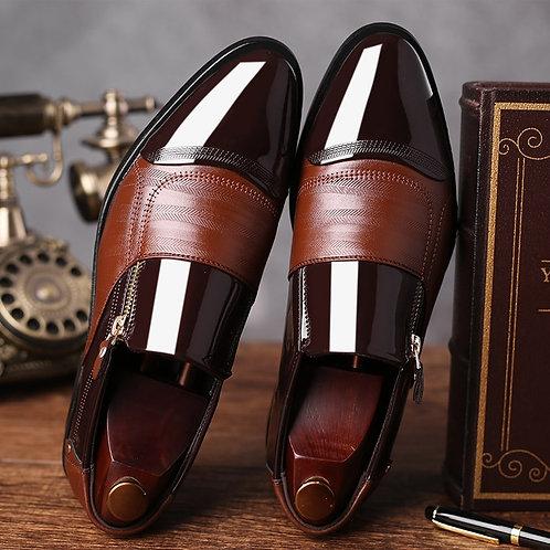 Formal  Wedding Shoes Men Slip on Oxfords