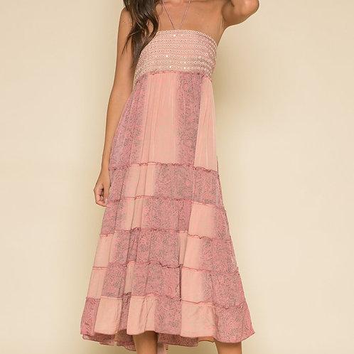Rustic Romance Halter Dress