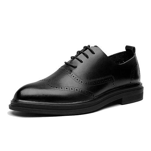 Genuine Leather Dress Men Shoes Lace Up  Oxfords