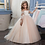 Thumbnail: Lace Flower Girl Dress  Long Sleeves Gown