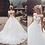 Thumbnail: Cap Sleeve Wedding Dress Open Back