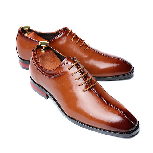 Men Dress Shoes  Lace-Up Loafers Casual Oxfords