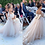 Thumbnail: Classic Tulle Flower Girl Dress With Bow Lace Appliques