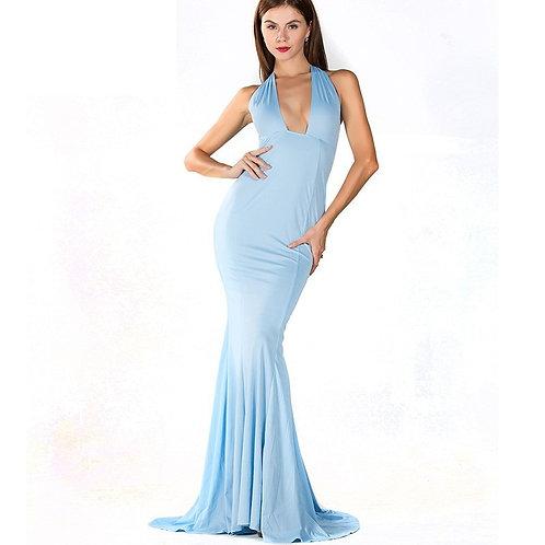 Light Blue Evening Gown