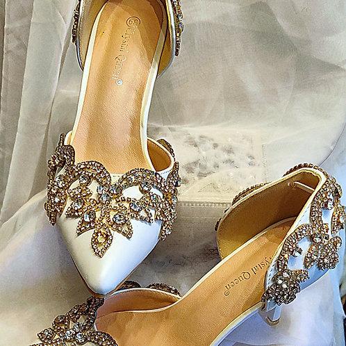Bridal Crystal Shoes