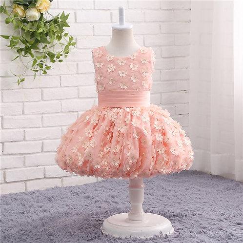 Pink Princess Dress for Girls  Flower Girl Dress