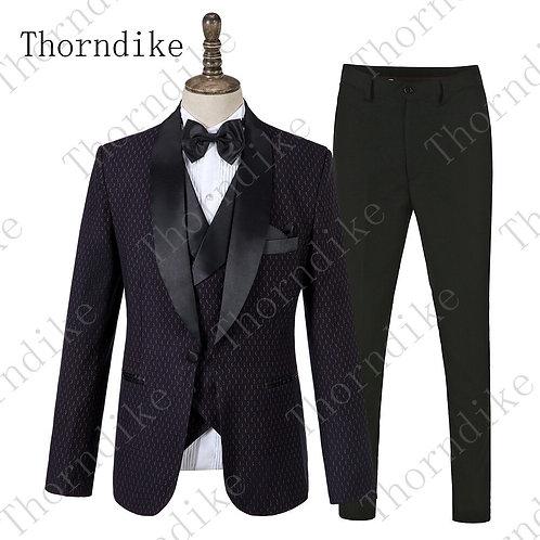 Black Suits  Tuxedo Wedding Suit for Men