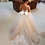 Thumbnail: Puffy Ivory Tulle Lace Ball Gown Flower Girl Dress