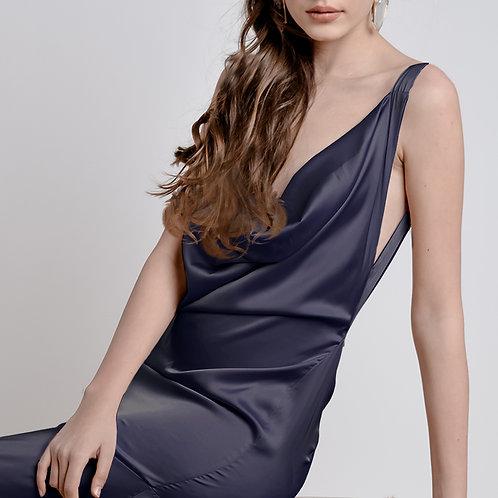 Royal Blue Bareback Dress