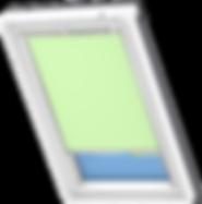 VELUX Blackout Blind - Pale Green 4569