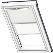 VELUX Duo Blind - Beige / White - 1085/1016