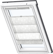 VELUX Roman Blind - White Leaves 6505
