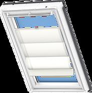 VELUX Roman Blind - Classic White 6501