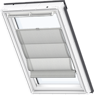 VELUX Roman Blind - Structured Grey 6516
