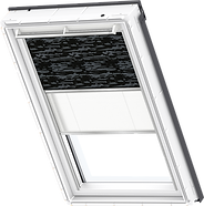 VELUX Duo Blind - Dark Pattern / White - 4562/1016