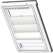 VELUX Roman Blind - Delicious White 6500