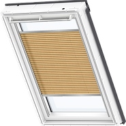 VELUX Pleated Blind - Shiny Cappuccino 1264