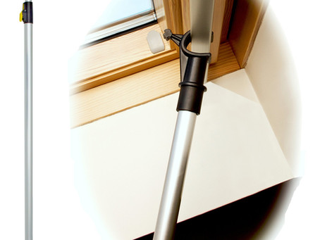 Using a pole to operate VELUX windows