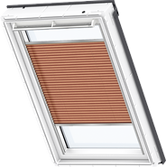VELUX Pleated Blind - Burned Orange 1267