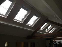 VELUX Solar blinds installation