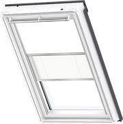 VELUX Duo Blind - White / White - 1025/1016
