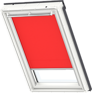 VELUX Roller Blind - Bright Red 4159