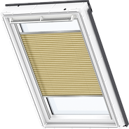 VELUX Pleated Blind - Metallic Gold 1263