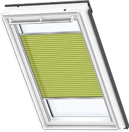 VELUX Pleated Blind - Luscious Lime 1266