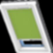 VELUX Roller Blind - Olive Green 4079