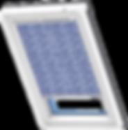 VELUX Roller Blind - Constructavist Pattern 4160