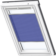VELUX Pleated Blind - Delightful Blue 1268