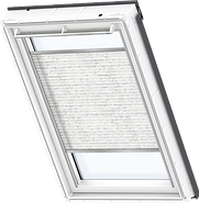 VELUX Pleated Blind - Classic White 1256