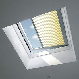VELUX Flat Roof Pleated Blinds