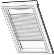 VELUX Pleated Blind - Infinite Grey 1262