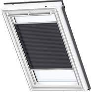 VELUX Pleated Blind - Metallic Blue 1265