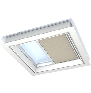 VELUX Flat Roof Pleated Blind Oxford