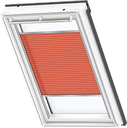 VELUX Pleated Blind - Sunny Orange 1273