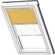 VELUX Duo Blind - Curry / White - 4563/1016