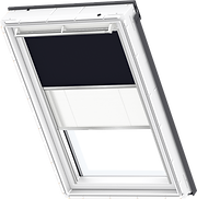 VELUX Duo Blind - Blue/ White - 1100/1016