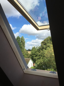 Top hung VELUX installation