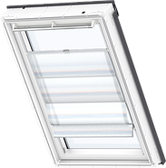 VELUX Designer Roman Blinds - Blue Translucent 6523
