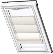 VELUX Roman Blind - Stylish Silver 6515
